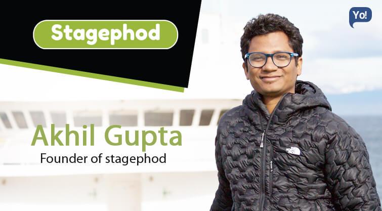 A Crisp Interview of Akhil Gupta by Yo Success!