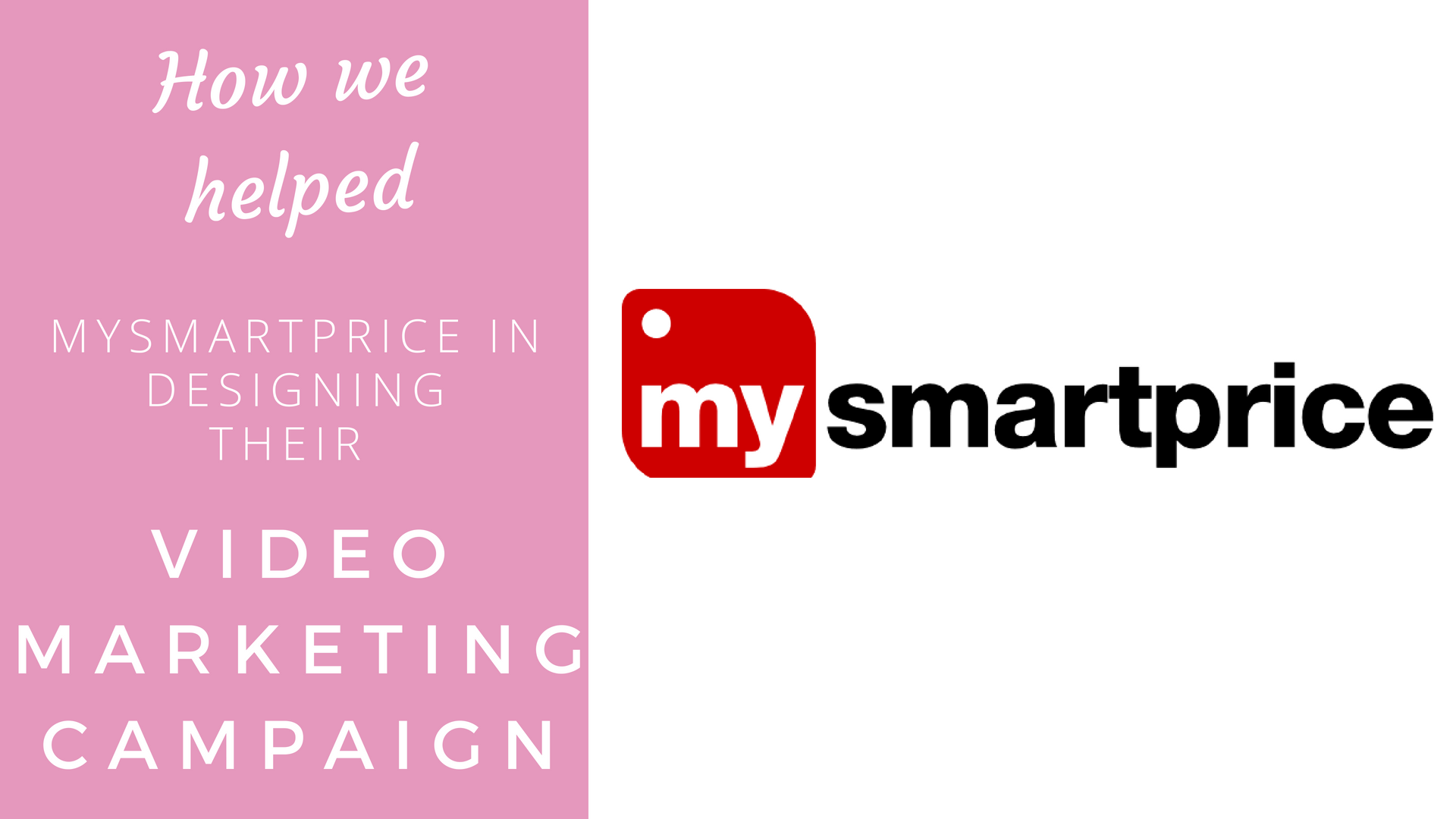 How we helped MySmartPrice with Video Marketing Campaign